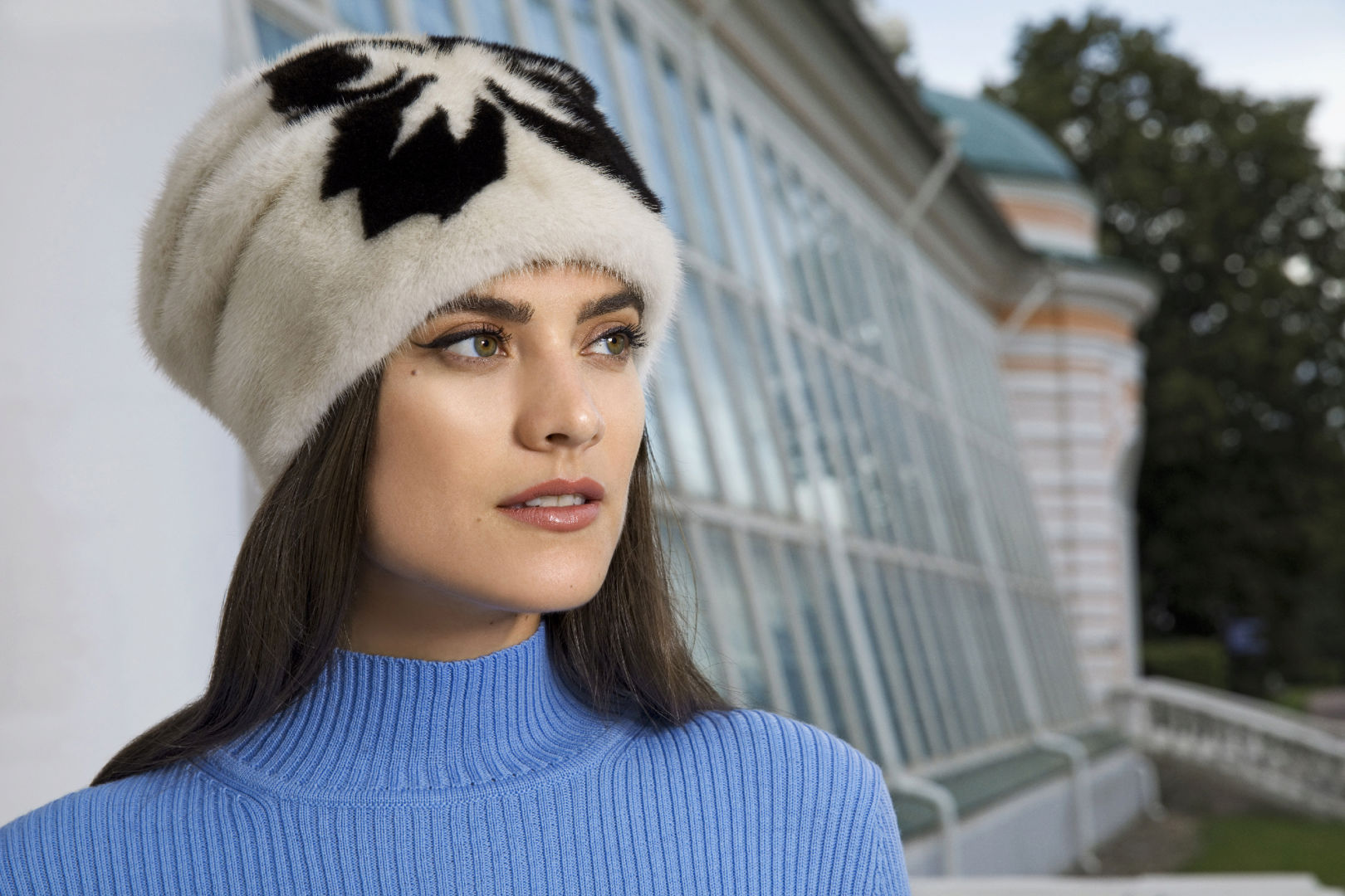6090c44e98fe Женские меховые шапки в Москве, купить зимнюю шапку в магазине SAGITTA